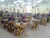 بالصور..عميد هندسة عين شمس يتفقد لجان امتحانات نهاية العام فى يومها الأول