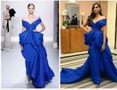 """بالصور.. مقارنة بين سونام كابور وعارضة أزياء دار """"Ralph & Russo"""""""