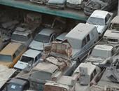 """""""واتس آب اليوم السابع"""":الباعة الجائلون والأسواق يشوهان منطقة أرض البستان بشبرا"""