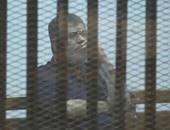 بالفيديو.. مرسى و24 متهما ينكرون إهانة القضاء.. والبلتاجى وعصام سلطان: نعذب بالسجن