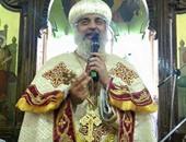 الانبا مقار يترأس قداس صوم العذراء بكنيسة الملاك شيراتون وسط حضور كثيف
