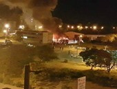 صفحة بفيسبوك تعيد Black bloc وتعلن مسئوليتها عن حرق أتوبيسات الإسماعيلية