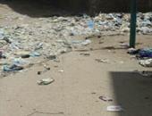 واتساب اليوم السابع.. تراكم القمامة فى شارع عثمان بن عفان بسوهاج