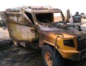 استشهاد ضابط ومجند وإصابة آخر فى انفجار بوسط سيناء
