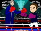فينجر وشيرود فى حلبة الملاكمة استعدادا لكأس الاتحاد الإنجليزى