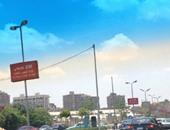 """""""واتس آب اليوم السابع"""": أعمدة الإنارة مضاءة فى """"عز الظهر"""" بمدينة نصر"""