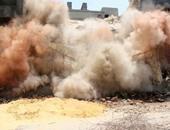 """بالفيديو.. """"داعش"""" يفجر سيارة مفخخة داخل مدينة كوبانى"""