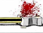 الموندو تنشر رسوما كاريكاتيرية ساخرة من حرية الصحافة فى العالم