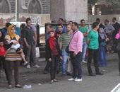 مشادات كلامية بين سائقى السرفيس وشرطة النقل فى منطقة الإسعاف بالقاهرة