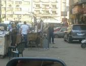 محافظة القاهرة: بحث نقل الباعة الجائلين بمحطة مترو حلوان لأماكن بديلة