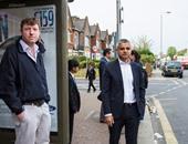 عمدة لندن الجديد يتوجه إلى مقر عمله مستقلا حافلة