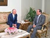 وزير دفاع إسبانيا يؤكد للسيسى تطلع بلاده للتعاون مع مصر عسكرياً وأمنياً