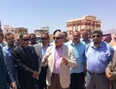 بالصور.. محافظ جنوب سيناء يتفقد مشروعات تنموية وخدمية فى دهب