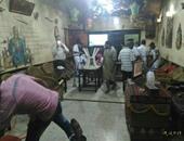 البيئة: تشن حملة مكبرة لإزالة تعديات 18مقهى بمصر الجديدة