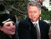 """هل سيذكر بيل كلينتون واقعة تحرشه بـ مونيكا  فى روايته """"رئيس مفقود""""؟"""