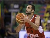 إصابة إبراهيم الجمال وسيف سمير لاعبى سلة الأهلى بكورونا