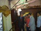 بالصور.. محافظ المنيا يفتتح معرض الأثاث الدمياطى بمشاركة 28 عارضا