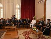 بالصور.. وزير الداخلية من الكاتدرائية: نشيد بالدور الوطنى المشرف للكنيسة المصرية