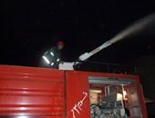 مصدر أمنى: تفحم 3 سيارات جراء حريق مخزن مواد غذائية ببولاق الدكرور