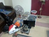 القبض على عاطل وبحوزته شاشة تليفزيون عقب سرقتها من شقة أخصائى بالأميرية