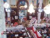 بالصور.. أسقف الوادى الجديد يشكر الرئيس بعد إنهاء إنشاءات كنيسة مارى بقطر