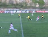 بالفيديو.. هدف جزائرى من 60 مترا مع رديف موناكو فى فرنسا