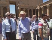 بالصور.. وزير الآثار: جولة سفير أمريكا فى الصعيد رسالة بأن مصر بلد آمن