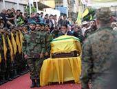 جنازة حاشدة ببيروت لقيادى بحزب الله اغتيل فى سوريا