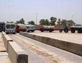 """بالصور.. بدء توريد القمح بصومعة """"شباس الملح"""" فى كفر الشيخ بطاقة 60 ألف طن"""