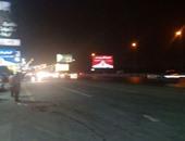 تحويلة مرورية على الطريق الغربى بالشروق من الساعة 10 مساء لإصلاح محطة صرف