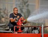 النيابة تأمر بسرعة التحريات حول حريق مبنى هيئة قضايا الدولة بالعجوزة
