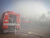 حريق بمصنع لمخلفات النسيج فى الإسكندرية بسبب ماس كهربائى