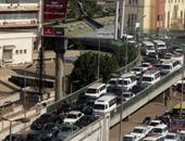 توقف حركة المرور فى نفق الأزهر بسبب حادث تصادم