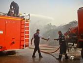 3 سيارات إطفاء تسيطر على حريق شقة سكنية فى العجوزة دون إصابات