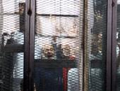 """بالصور.. دفاع """"اعتصام رابعة"""" يعترض على فض الأحراز لغياب بعض المتهمين"""