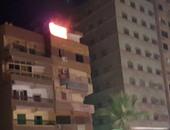 الحماية المدنية تسيطر على حريق شقة سكنية بفيصل بلا إصابات