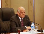 رئيس مجلس النواب ووزير الداخلية يتقدمان جنازة الشهيد النقيب أحمد رضوان