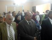 """الوقوف دقيقة حدادا على شهداء الوطن أثناء مؤتمر """"كلنا فى حب مصر ضد الإرهاب"""""""
