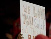 """الجماهير الحمراء لفرعون روما: """"نحن نحبك يا صلاح ولكنه الأهلى"""""""