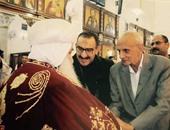 أسقف نجع حمادى يستقبل نواب مجلس الشعب وقيادات شعبية للتهنئة بعيد القيامة