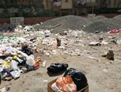 صحافة المواطن: تراكم القمامة أمام مترو بترويل فى المنصورة