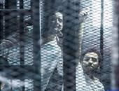 """بدء نظر استئناف النيابة على براءة """"متظاهرى 25 أبريل"""""""