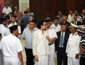 """أسامة ياسين يدافع عن نفسه أمام المحكمة فى قضية """"فض اعتصام رابعة"""""""