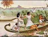 """بالصور.. """" شم النسيم"""" عيد ابتكره المصريون منذ 5 آلاف سنة.. القدماء كانوا يعتقدون أنه أول الزمان وبداية الخلق.. والخروج للمتنزهات بالأسماك من مدينة إسنا بالأقصر أبرز طقوس الاحتفال به"""