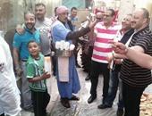 """""""العرقسوس"""" يظهر فى احتفالات بلدية المحلة بشم النسيم"""