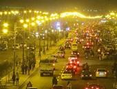 بالصور.. عروض ليلية لسيارات الزهور بكورنيش السويس وحفلات بالعين السخنة