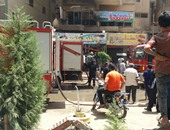 صحافة المواطن: حريق بمقهى وحضانة أطفال بميدان الساعة الطالبية فيصل