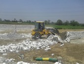 """""""رى الجيزة"""": 385 حالة تعدى على الأراضى الزراعية خلال شهر"""