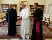 حكماء المسلمين: لقاء شيخ الأزهر والبابا يفتح الآفاق لحوار تحقيق الخير للبشرية