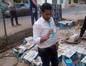 """حملة """"الضرب بيد من حديد"""" تضبط 4080 زجاجة مياه طبيعية مخالفة بجنوب سيناء"""